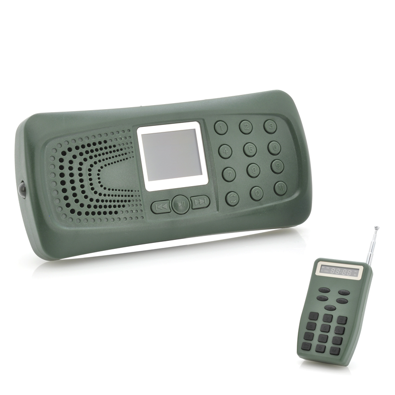 Wholesale MP3 Bird Sound Player with 100 Meter Remote Control Range (20W Speaker, 243MB Memory)