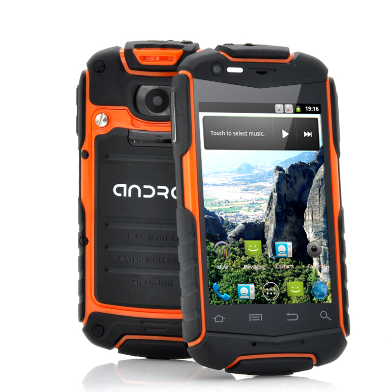 Wholesale Enyo-N1 - Rugged Android Phone with 3.5 Inch Screen (1GHz CPU, IP53 Water Resistant, Shockproof, Dust Proof, Orange)