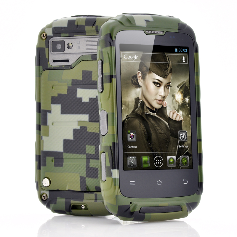 Wholesale Lieutenant - 3.5 Inch Ruggedized Android Phone (1GHz Dual Core CPU, Waterproof, Shockproof, Dust Proof)