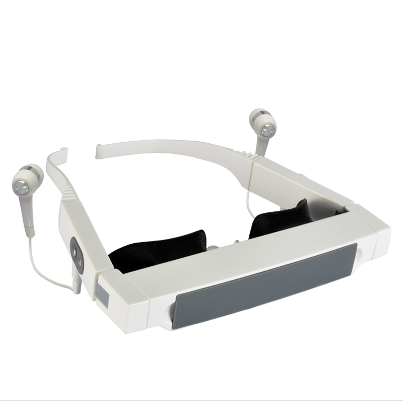 Wholesale 72 Inch Virtual Screen Video Glasses with Adjustable Backstrap and Focus - 4GB