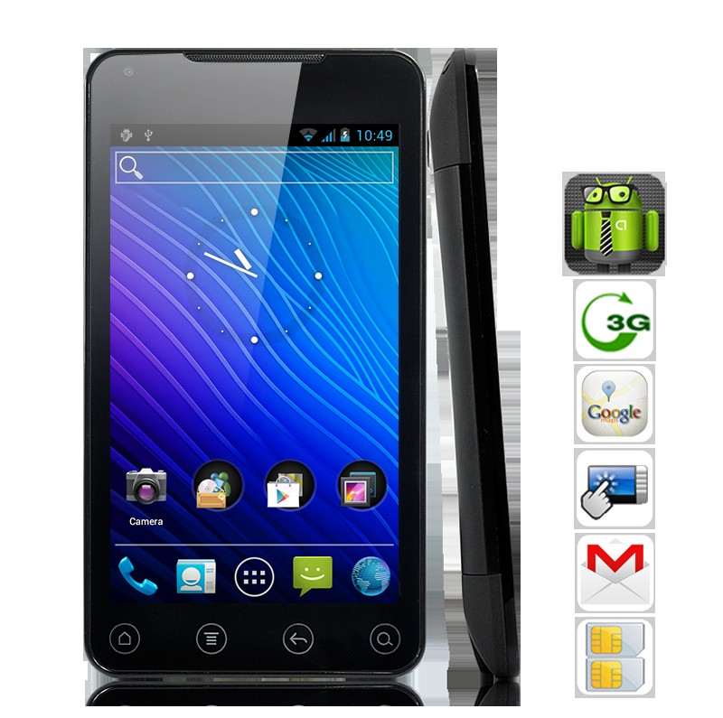 Titanium - 5 Inch Capacitive Screen Android 4.0 Phone Tablet with 3G, GPS, 1GHz CPU