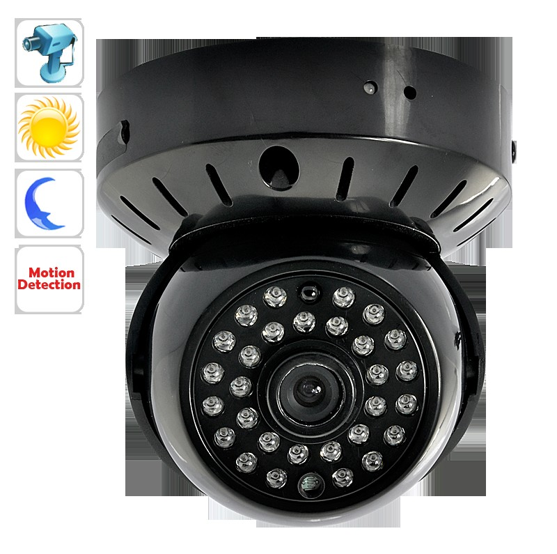 Wholesale Nightvision CCTV Dome Camera with MicroSD Recording and 1500mAh