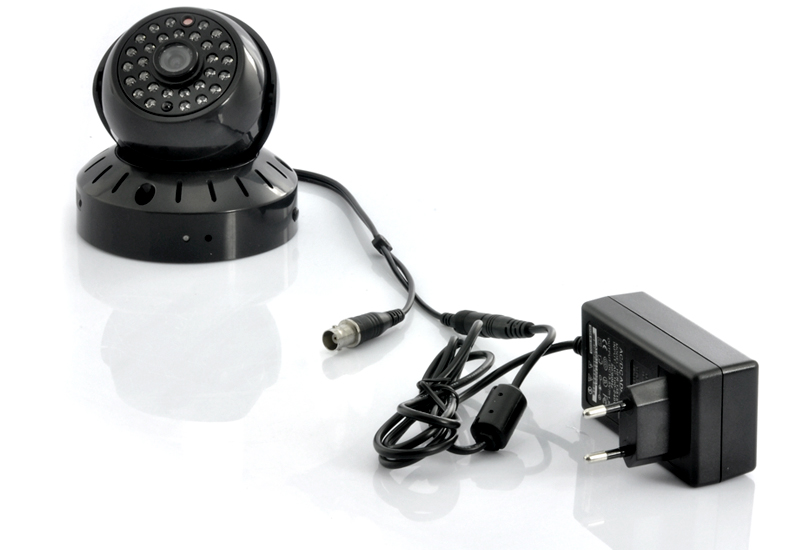 Nightvision CCTV Dome Camera with MicroSD Recording and 1500mAh Built-in Battery
