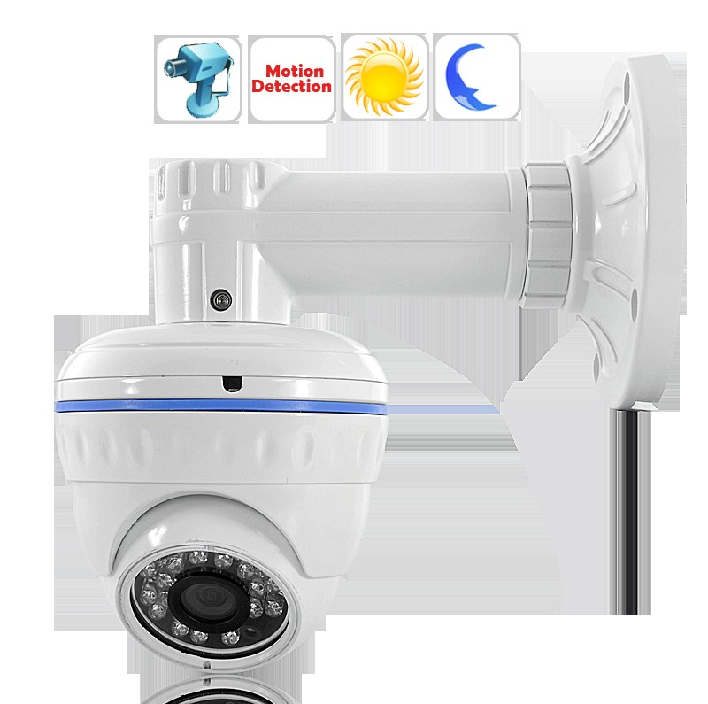 "Wholesale 700 TVL CCTV Dome Camera with Motion Detection - 1/3"" Color Sony"