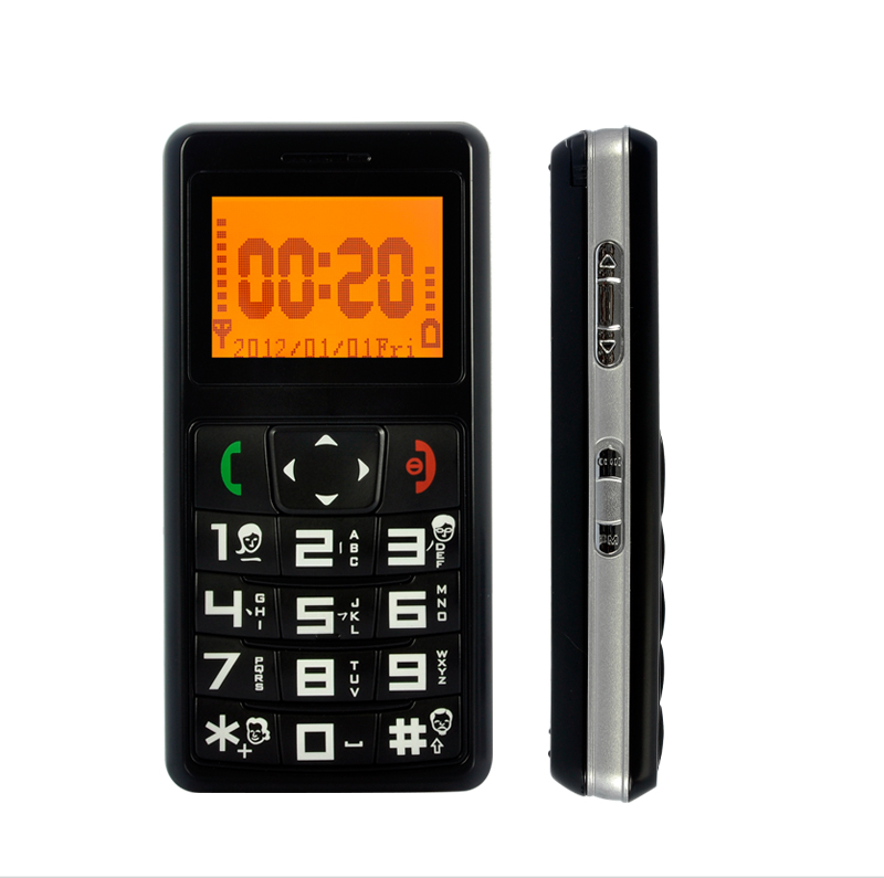 Wholesale Quadband Senior Citizen Cell Phone with GPS Tracking, Radio, SOS Calls
