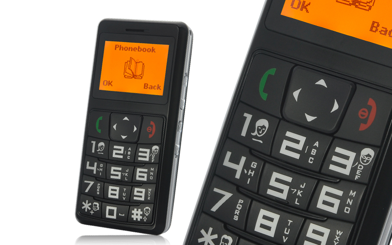 Quadband Senior Citizen Cell Phone With Gps Tracking