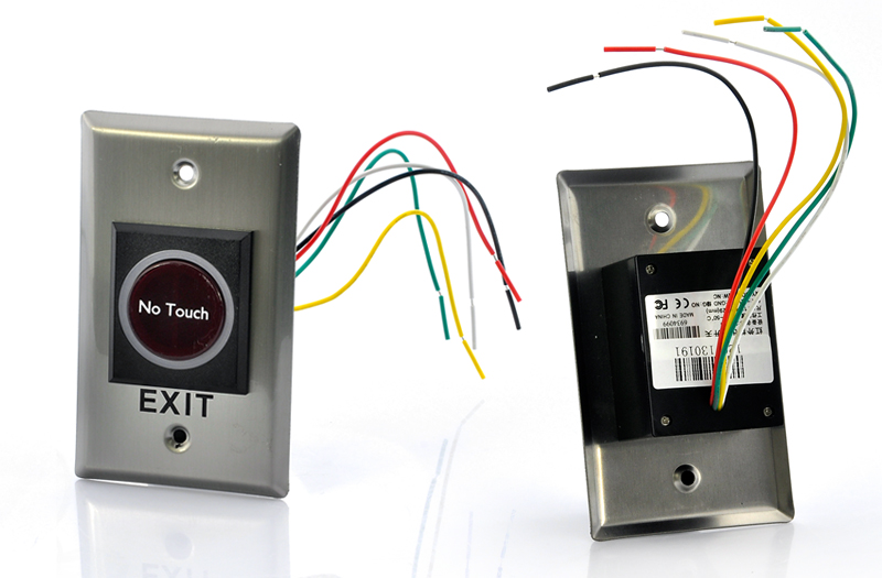Biometric Time Attendance and Access Machine with Auto Door Lock and Exit Motion Sensor