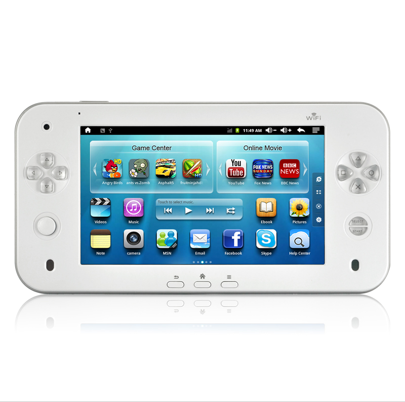 Pearl - Gaming Android Tablet for MAME Arcade, NES, Nintendo 64, PS1, SNES, GBA, Gameboy, Sega Genesis/Megadrive