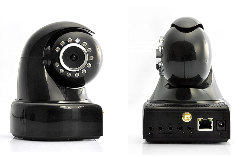 HD Wireless IP Camera with Direct TV Connection (1280 x720P, Nightvision, PTZ, IR-Cut)