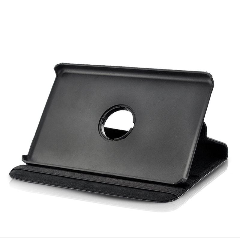 Leather Case for Kindle Fire 360 degree Swivel Stand - Easy Install