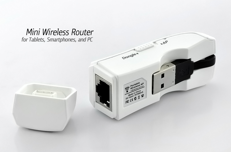 Wholesale Mini Wireless Router - Easy WiFi AP within 5 Seconds