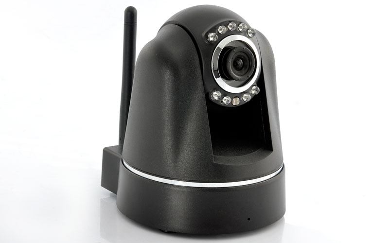 Wide PTZ H264 IP Camera with MicroSD Card Recording - Plug and Play