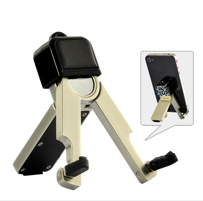 Folding Mini Smartphone Holder Stand for iPhone, iPod, Samsung, HTC, and More