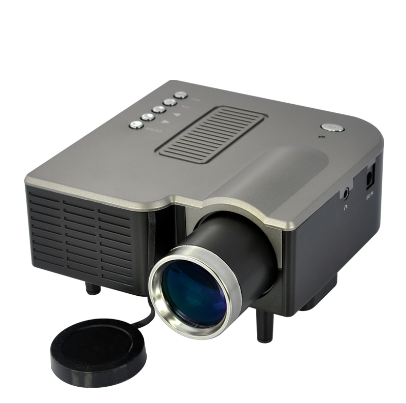 PortiMax - Portable Multimedia Projector with 3-in-1 AV IN - LCD+LED Projection