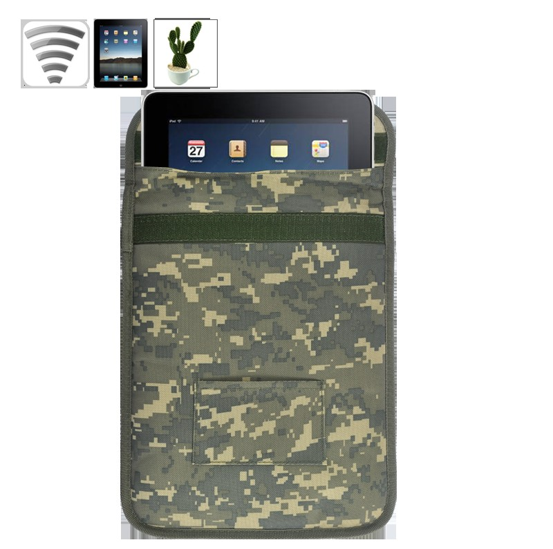 Protective Anti-Radiation Case for 3G and GPS Signal Blocking - Army Green