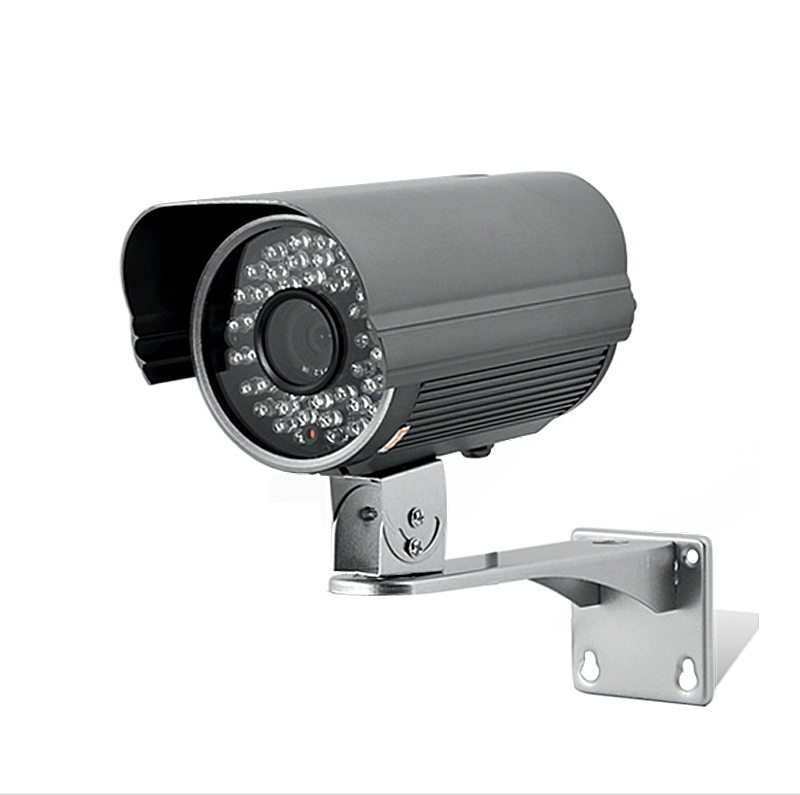1/3 Inch Sony CCD Security Camera with 48 IR LEDs and Motion Detection - PAL