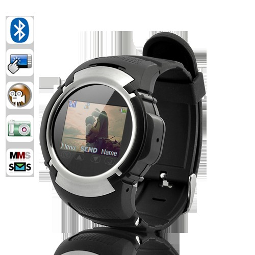 Wholesale Cheetah - Multimedia Sports Watch Cell Phone with Speaker and MIC