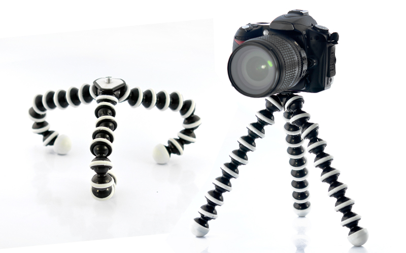 Wholesale Flexible Spider Tripod for Camera and Camcorder - Lightweight & Adjustable