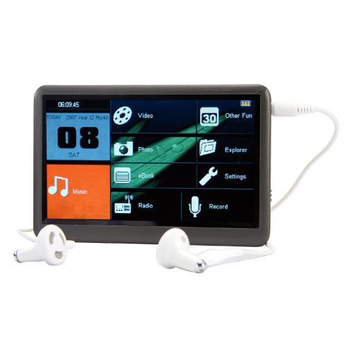 The Bomb - 4.3 Inch Touchscreen MP6 Player with FM Radio - 8GB