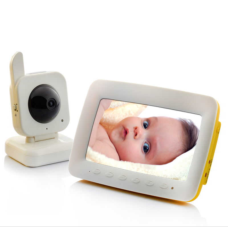 Wholesale VOX Two Way Audio Wireless Baby Monitor with 7 Inch Screen (Nightvision, Motion Detection, AV Out)