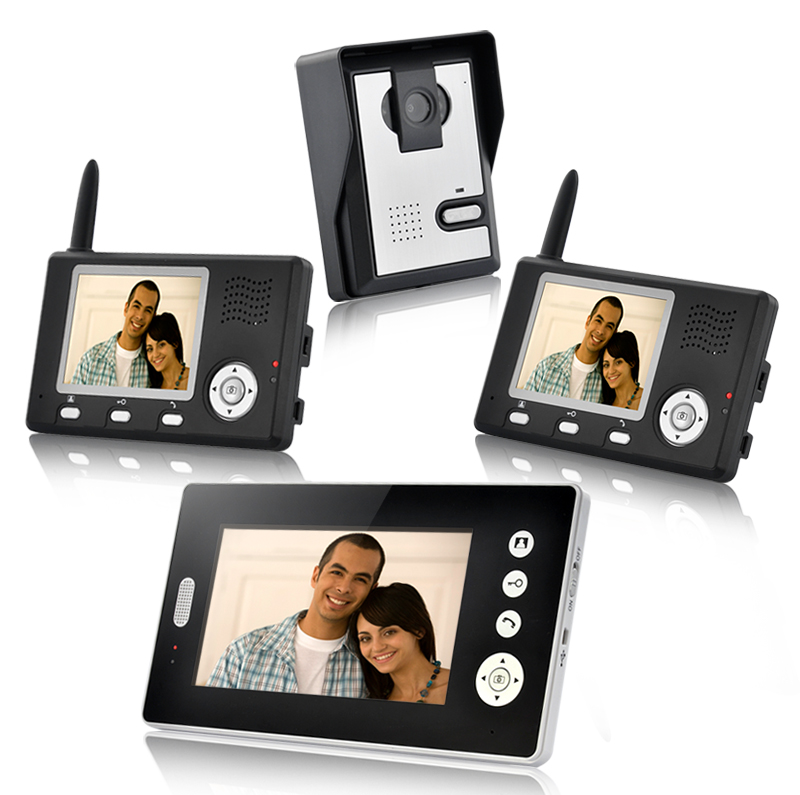 Wholesale Triple Vision Guardian - Wireless Video Door Phone with Triple P