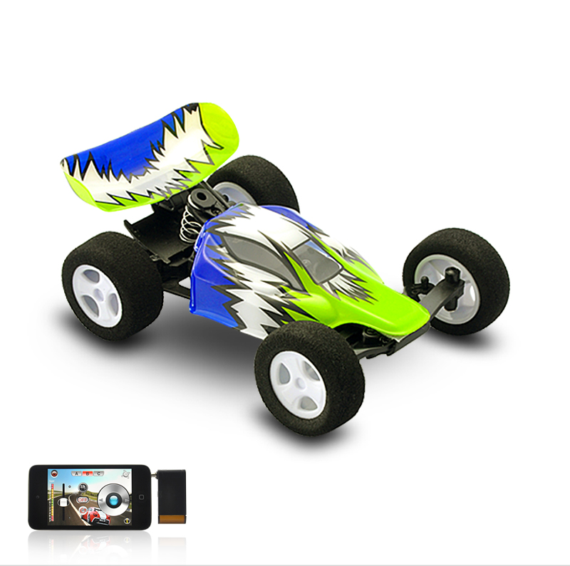 High Speed RC Stunt Car with Robust Structure - iPhone/iPad/iPod Touch Controlled