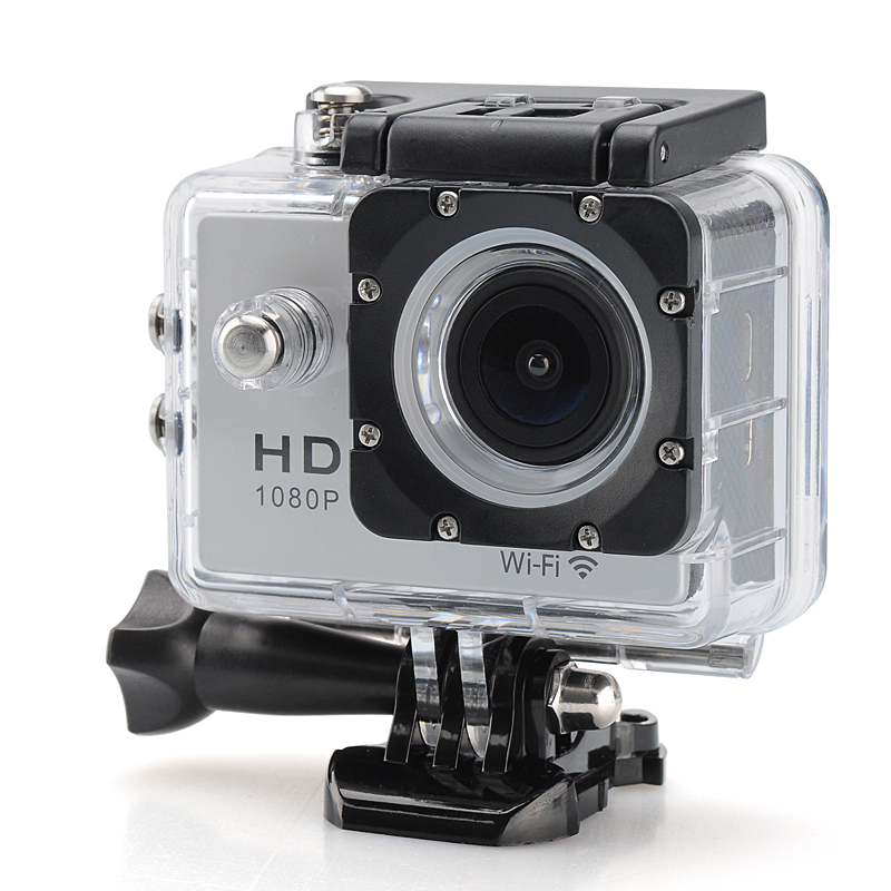Wholesale 1080p HD Waterproof Sport Camera (5.0MP CMOS, 2 Inch LCD, 140 Degree Lens Angle)