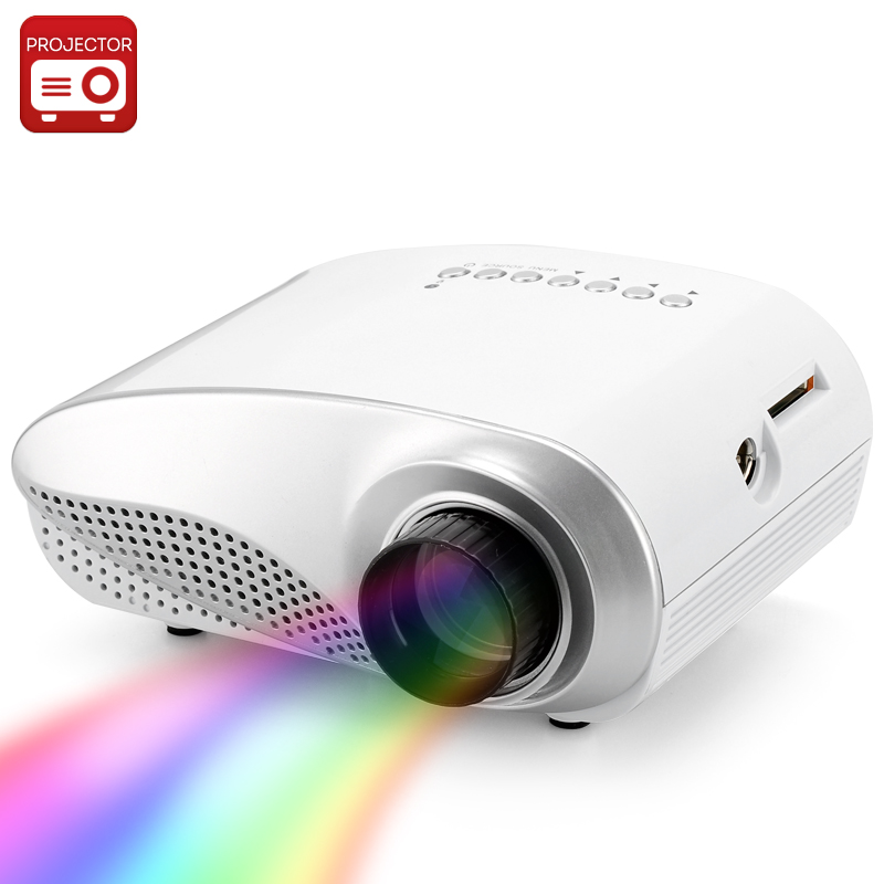 Mini 1080p Full Hd Led Projector Home Theater Cinema 3d: 1080p Mini LED Projector (HD, HDMI, 320x240, 1000: 1, 50