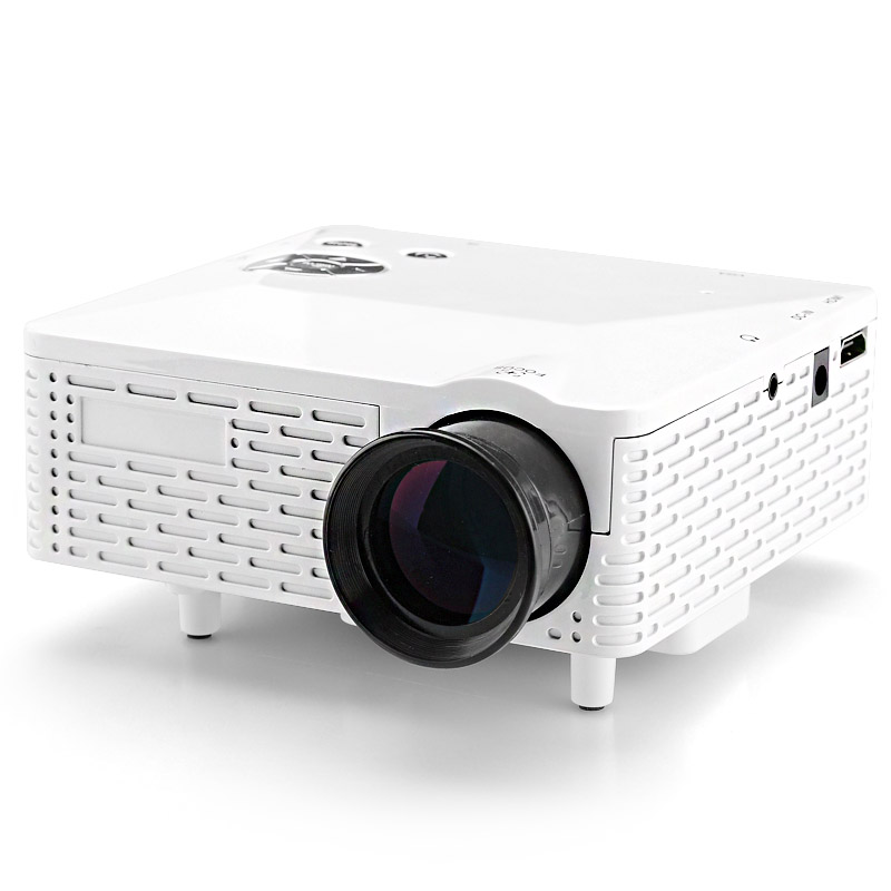 Wholesale Mini LED Projector (60 Lumens, 400: 1, 1.67M Colors, 1920x1080,