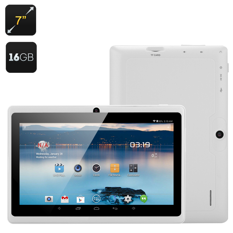 Wholesale Horus 16GB - 7 Inch Android 4.4 Tablet (1.5GHz Dual Core CPU, Dual Camera, 16GB, White)