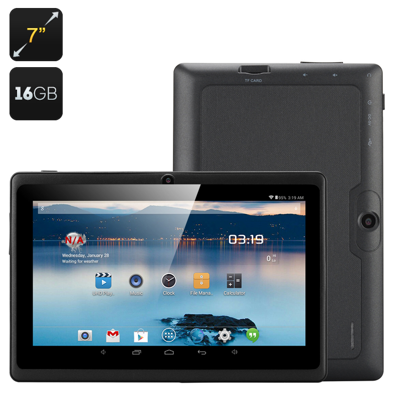 Wholesale Horus 16GB - 7 Inch Android 4.4 Tablet (1.5GHz Dual Core CPU, Dual Camera, 16GB, Black)