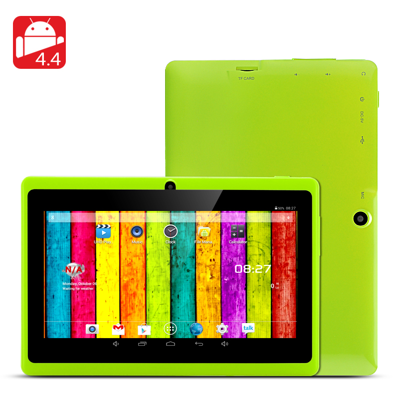 Wholesale Horus 8GB - 7 Inch Android 4.4 Tablet (1.5GHz Dual Core CPU, Dual Camera, 8GB, Green)