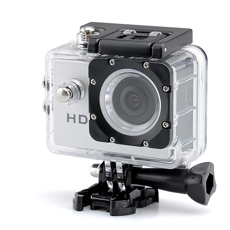 Wholesale 720p HD Sport Camera (30 Meter Waterproof, 2.0MP CMOS, 140 Degree Lens Angle)