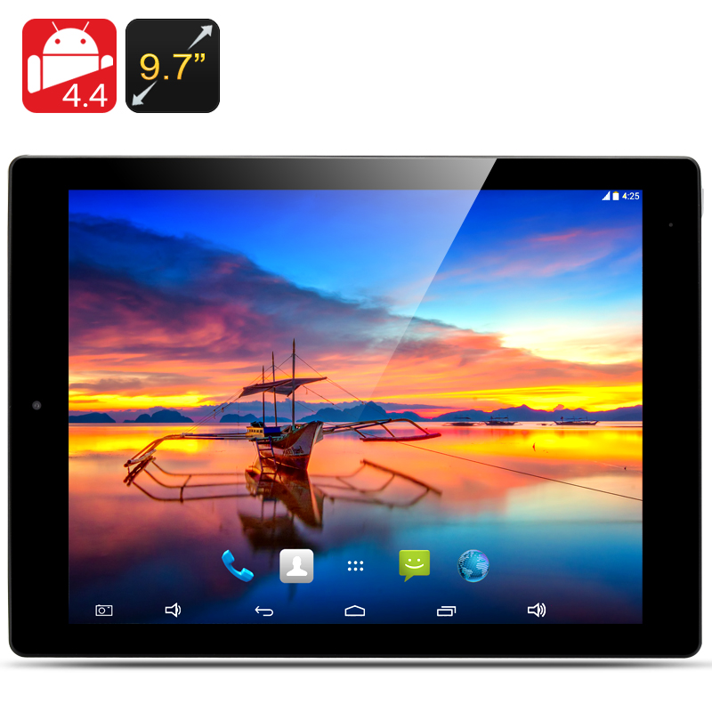Wholesale E-Ceros Revolution 2 - 9.7 Inch Android 4.4 Tablet PC (2048x1576, 1.8GHz Quad Core CPU, 2GB RAM, 32GB, Black)