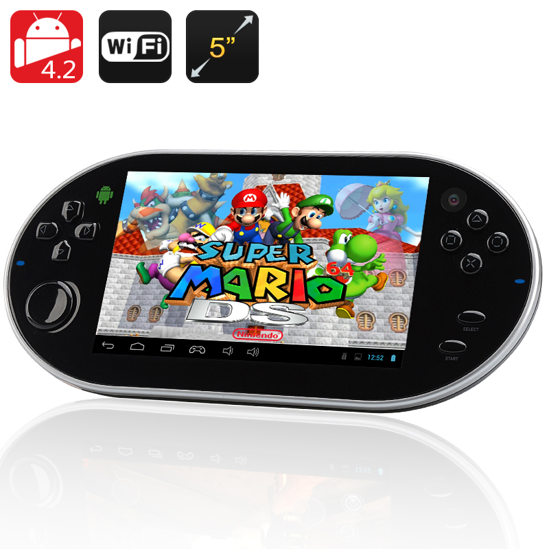 Wholesale Emulation III - 5 Inch Android 4.2 Gaming Console Tablet + Emulator (HDMI, 1.2GHz Dual Core CPU, 1GB RAM + 8GB ROM)