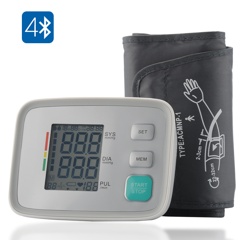 Wholesale Bluetooth Blood Pressure Monitor for Android/iOS Smartphone and