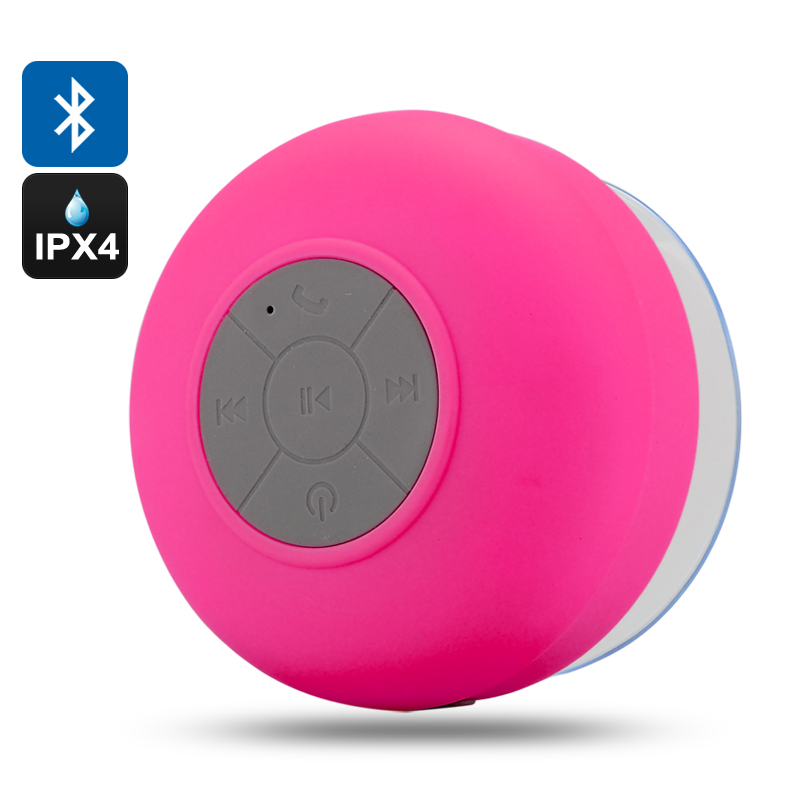 Wholesale AquaSound - IPX4 Water Resistant Bluetooth Shower Speaker (Call