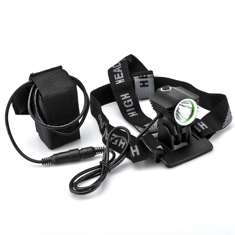 Wholesale Cree XML T6 LED Bike Light + Headlamp for Cyclists (1200 Lumens, Water Resistant)