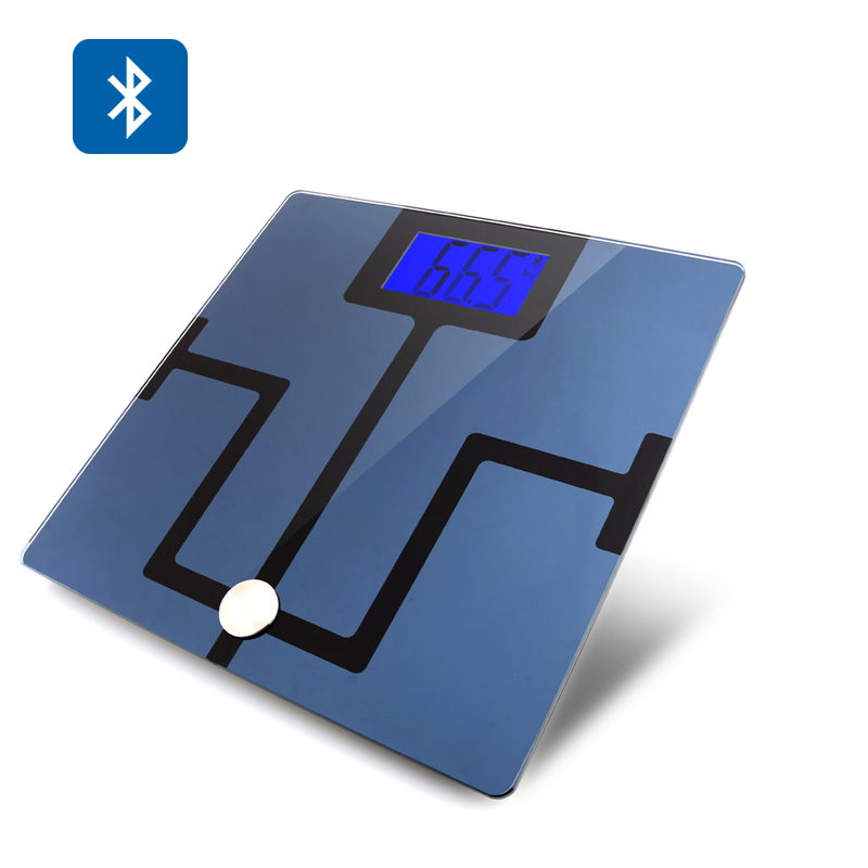 Wholesale Digital Bluetooth Body Scale For Android + iOS (Body Composition Analyzer, 4.3 Inch LCD)