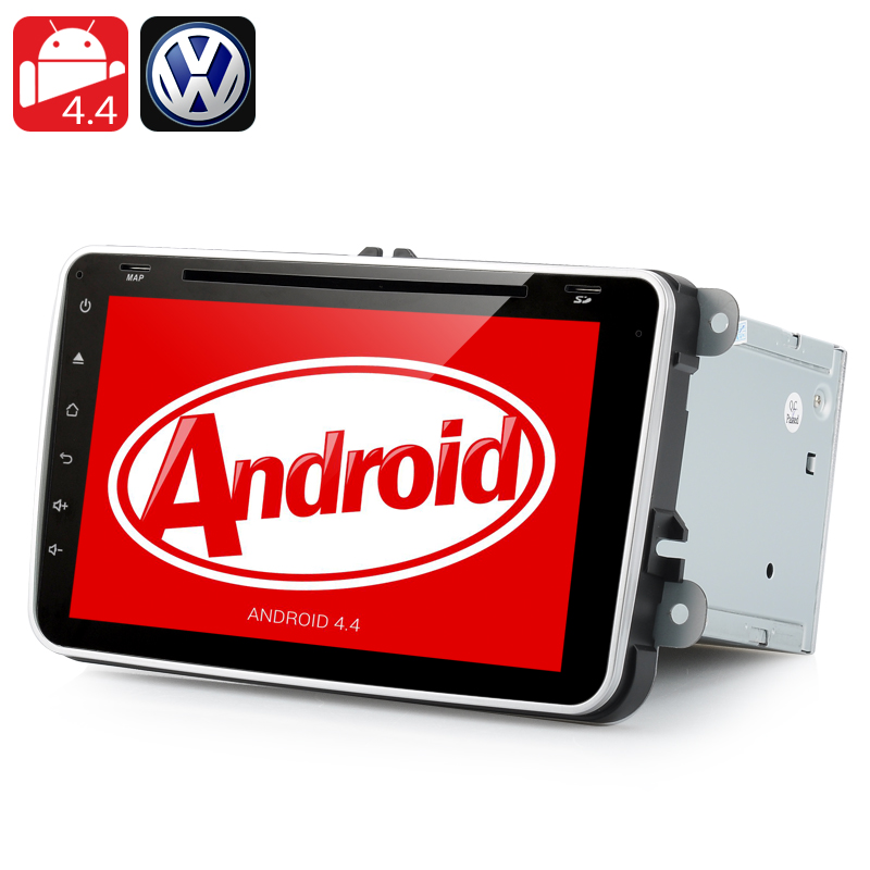 Wholesale Double DIN Android 4.4 Car DVD Player for Volkswagen (8 Inch Hea