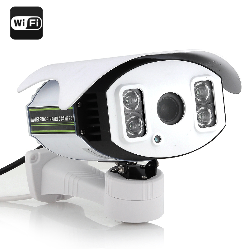 Wholesale 720p HD IP Security Camera (1/4 Inch CMOS, 4x Zoom, H.264, 100m Night Vision, Wi-Fi)
