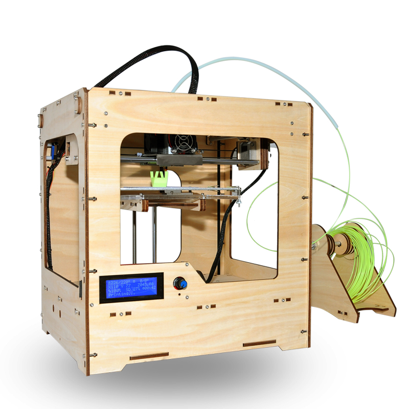 Wholesale PrecisionBot - High Precision Home 3D Printer (40-150mm/s, 0.4mm Nozzle Diameter, ABS or PLA Filament)