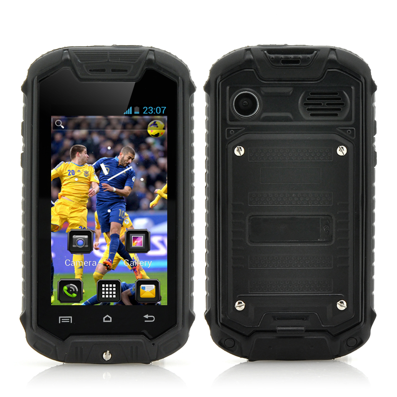 Ultra Mini Android Phone Ip53 Water Resistant 2 45 Inch