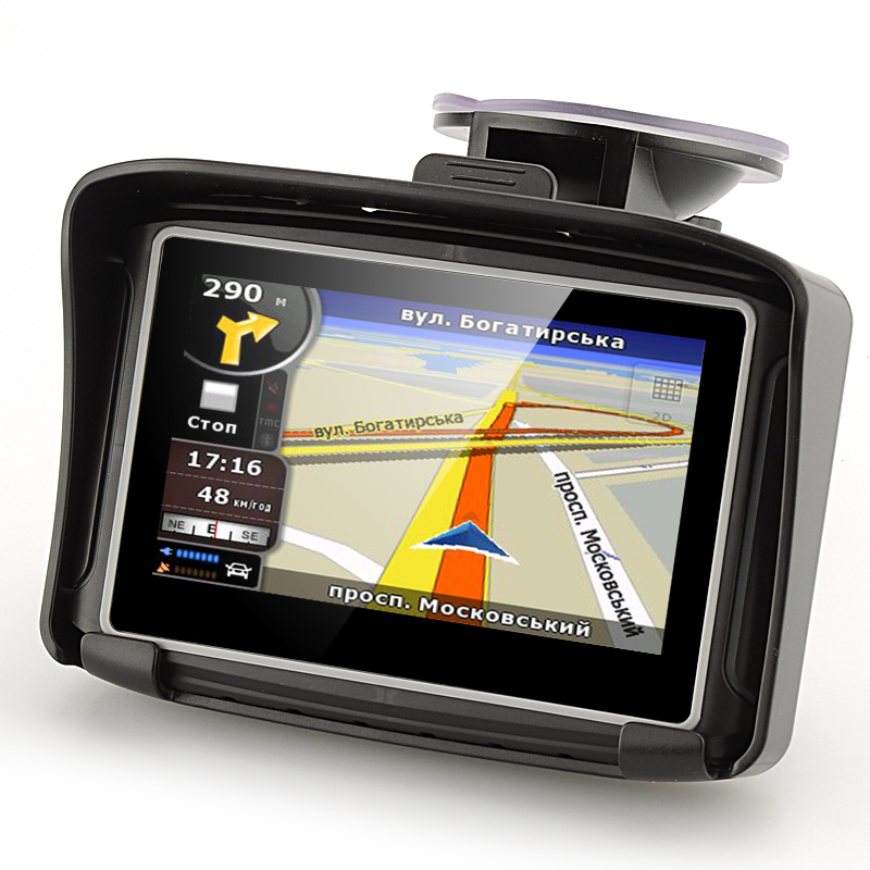 Wholesale 4.3 Inch Touch Screen Motorbike GPS Navigation (IPX7 Waterproof, 8GB)