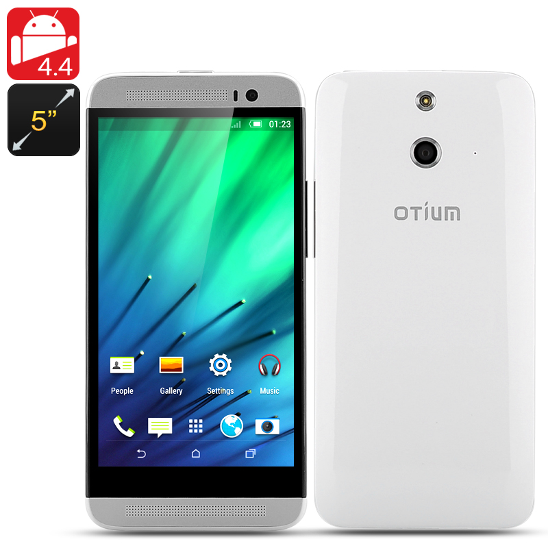 Wholesale Otium E8 5 Inch Quad Core Android Phone (1280x720p, 1.3GHz CPU, 1GB RAM, 8GB ROM)