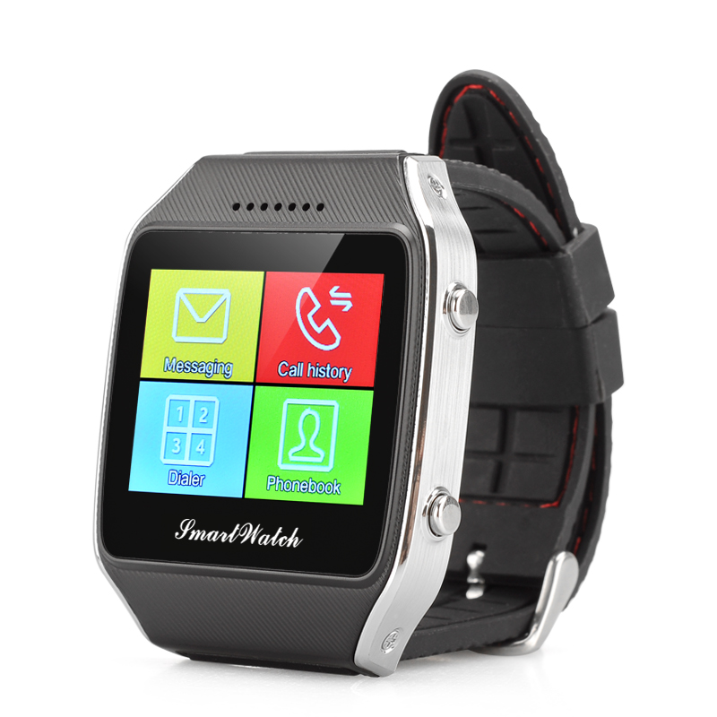 Wholesale Otium Gear Neo 1.65 Inch Bluetooth Smart Watch Phone with Pedometer and Remote Notifier