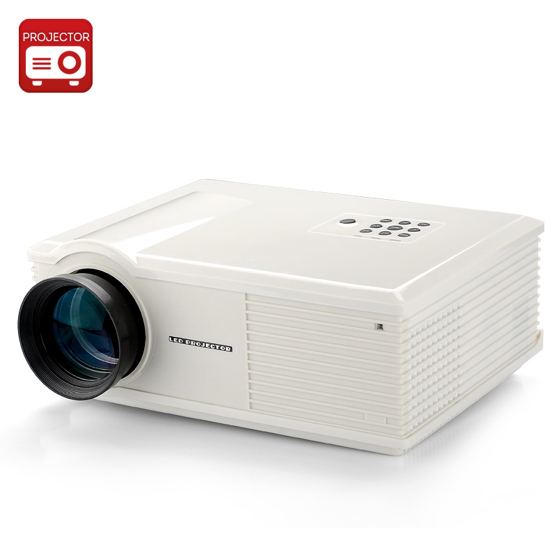 Wholesale PH580 TFT LCD Projector W/ Eink 5.8 Inch TFT LCD Panel (3500 Lumens, 1280x800, 170W, 2000: 1)