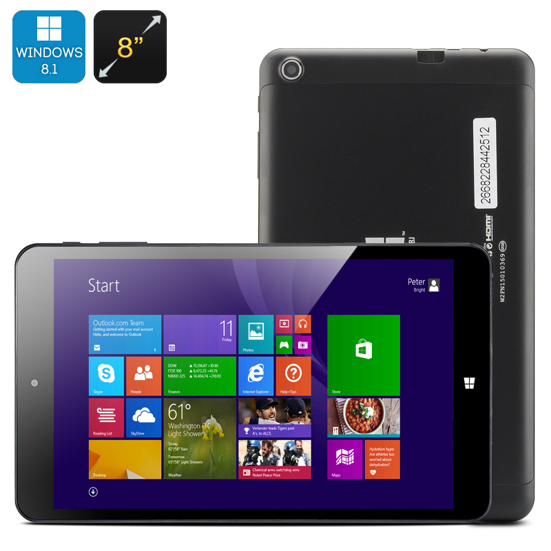 Wholesale PiPO W2F Quad Core Windows 8.1 Tablet PC (8 Inch, 1280x800, 2GB