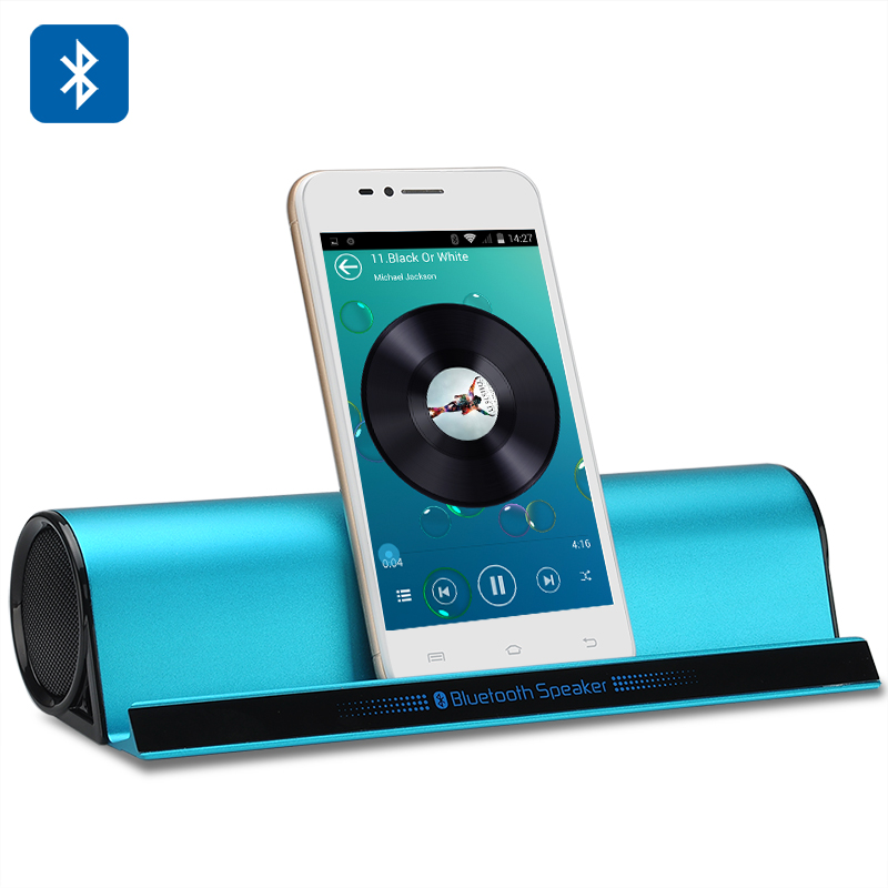 Wholesale Portable Bluetooth Wireless Speaker with Built-in 1000mAh Batter