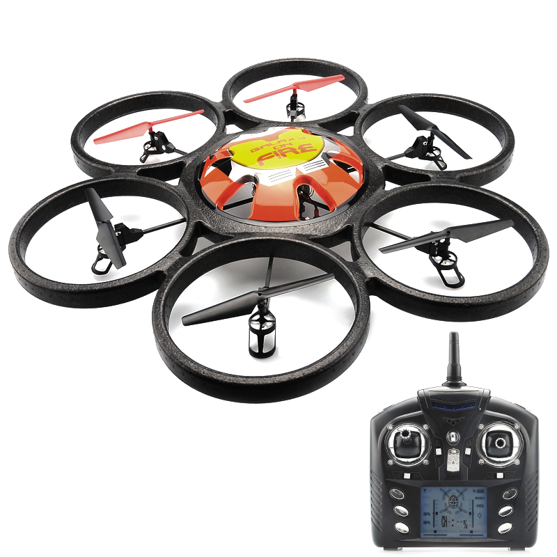 Wholesale Skywalker 6-Axis Gyro RC Hexacopter (2.4GHz, 4 Channel, 100 Meter Range)